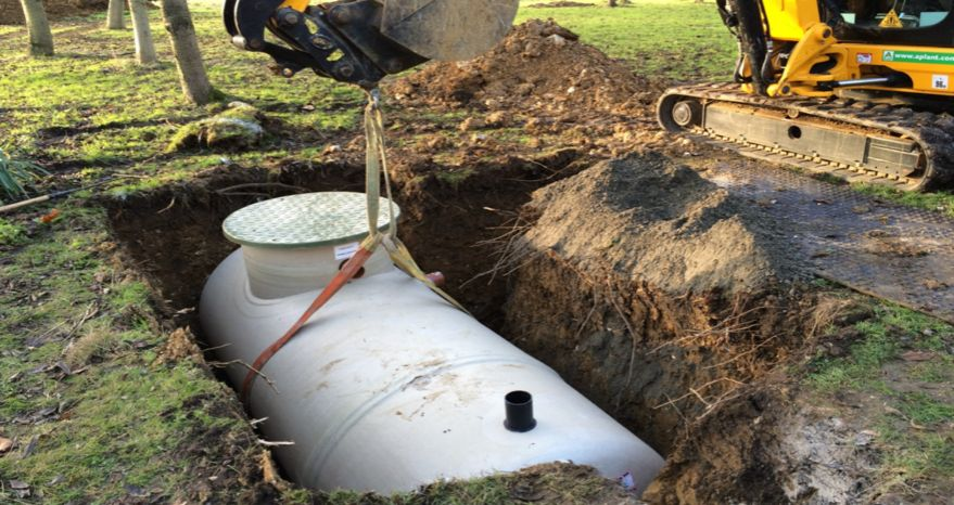 SEWAGE TREATMENT PLANT INSTALLATIONS | JG PRICE & SONS BUILDING SERVICES HEREFORD